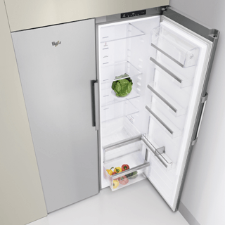 Whirlpool Fjord SW8 AM2C XR Fridge in Optic Inox 4