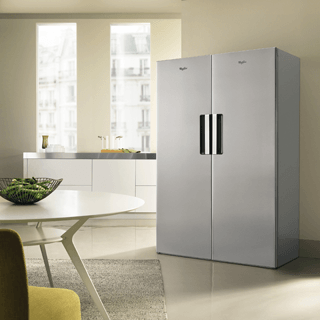 Whirlpool BLF 8121 OX Fridge Freezer in Optic Inox 6