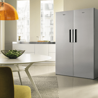 Whirlpool BLF 8121 OX Fridge Freezer in Optic Inox 7
