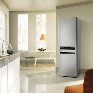 Whirlpool BLF 8121 OX Fridge Freezer in Optic Inox 13