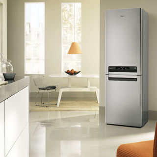 Whirlpool BLF 8121 OX Fridge Freezer in Optic Inox 14