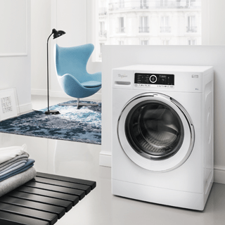 Whirlpool SupremeCare FSCR80410 Washing Machine in White 10