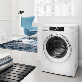 Whirlpool SupremeCare FSCR80410 Washing Machine in White 11