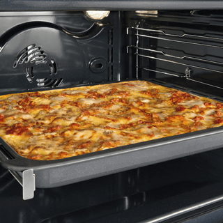 Whirlpool built in electric oven: in Stainless Steel, self cleaning - W7 OM4 4BPS1 P 4