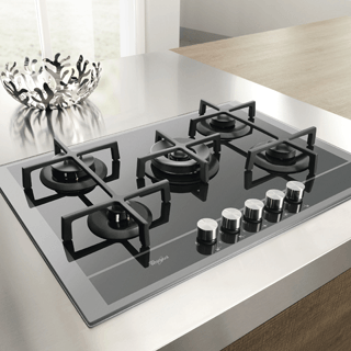 Whirlpool Built-In Induction Hob in White ACM 932/BA/S 4