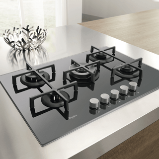Whirlpool Built-In Induction Hob in White ACM 932/BA/S 5