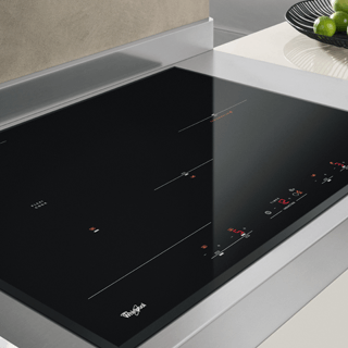 Whirlpool ACM 808/BA/S Built-In Induction Hob in Silver Dawn 8