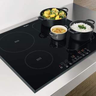 Whirlpool ACM 808/BA/S Built-In Induction Hob in Silver Dawn 2