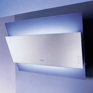 Whirlpool AKR 590 UK IX Built-In Cooker Hood in Stainless Steel 1