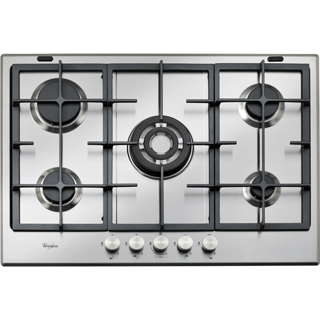 Whirlpool Absolute GMA 7522/IX Built-In Gas Hob in Stainless Steel