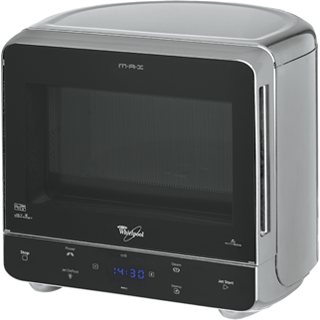 Max 35 Microwave with Steam function in Silver MAX 35 SL