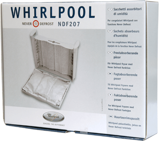 Never Defrost Absorber Bags for Whirlpool freezers NDF207