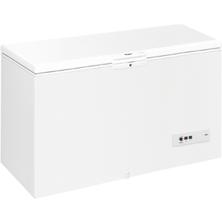 395-litre Capacity Chest Freezer in White WHM3911