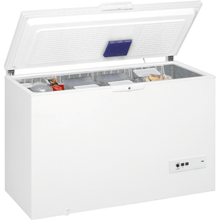 454-litre Capacity Chest Freezer in White WHM4611
