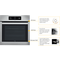 Whirlpool Absolute AKZ 6230 IX Built-In Oven in Stainless Steel