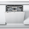 Whirlpool SupremeClean WIO 3T123 PEF Built-In Dishwasher