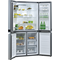 Whirlpool W Collection WQ9B1LUK Fridge Freezer - Stainless Steel