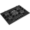 Whirlpool Gas Hob: 5 gas burners - GOW 7553/NB
