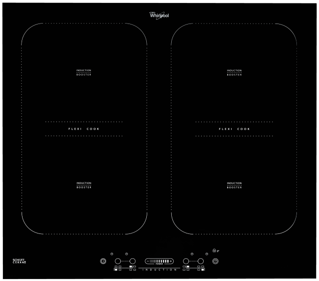 ACM828BA Dual Flexi Cook 60cm Induction