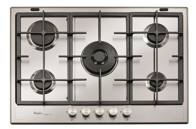 GMF7522IXL iXelium Coated Fusion Style 75cm Gas Cooktop