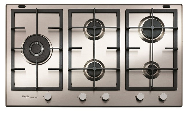 GMF9522IXL iXelium Coated Fusion Style 90cm Gas Cooktop